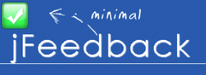 jFeedback: A Minimal jQuery Notification Plugin