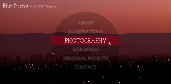BlurMenu_Style7