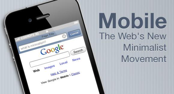 the web's new minimalist movement