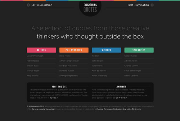 Examples Of Perfect Color Combinations In Web Design