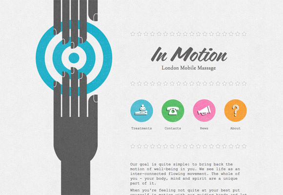 Communication, Mood and Meaning: Lines in Web Design