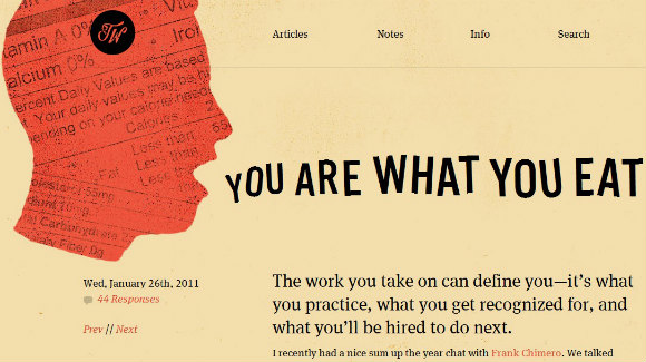 Inspiring Examples Of Symbol And Metaphor Use In Web Design