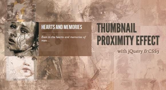Thumbnail Proximity Effect