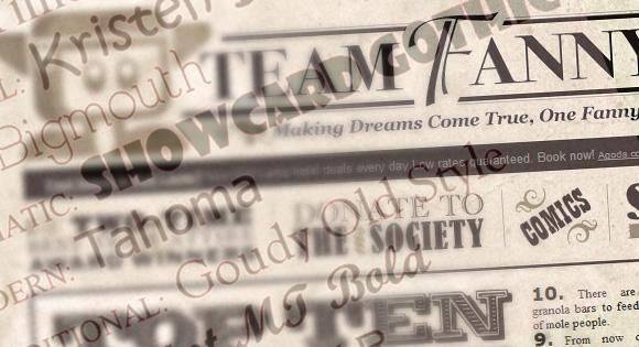 Establish a Mood with Typography