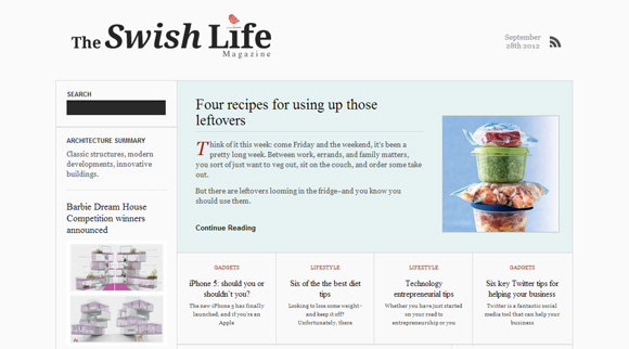 The Swish Life