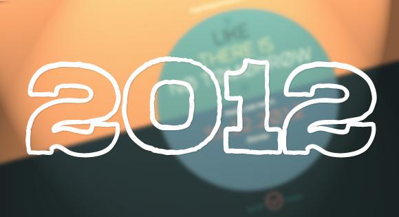A Creative Year: Distinctive Web Designs of 2012